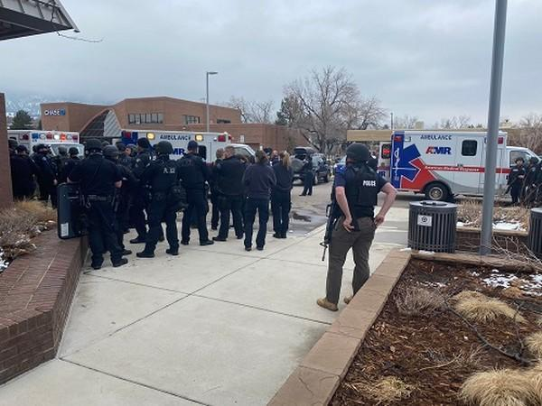 Police officers have responded to a shooting at a local grocery store in the US state of Colorado, (Photo Credit: Boulder Police Dept twitter)