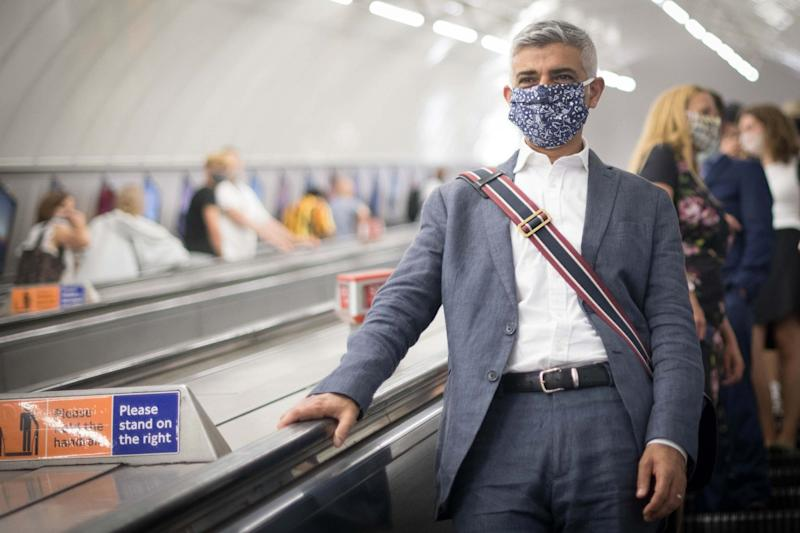 London mayor Sadiq Khan has said he believes it may be necessary to return to a
