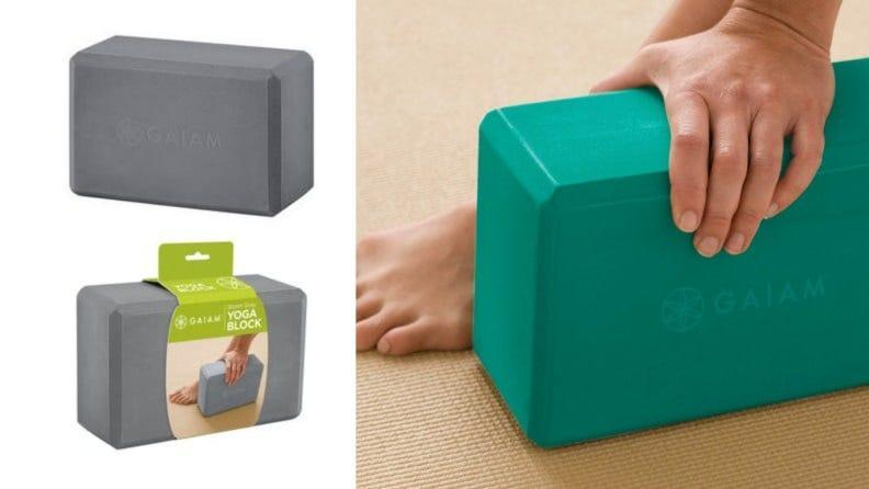 Blocks can make yoga practice more accessible.