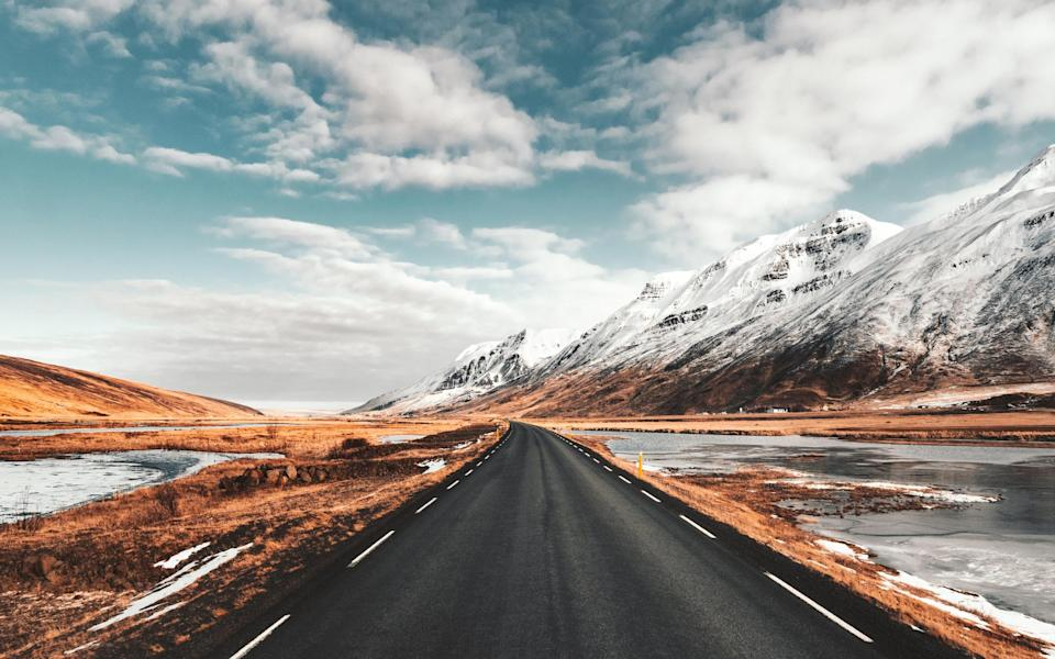 road in iceland - Getty