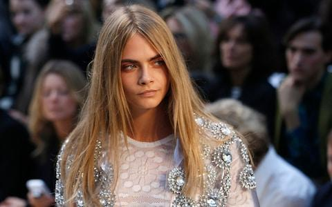 Francis Holland School in Sloane Square counts the model and actress Cara Delevigne among its alumni - Credit: SUZANNE PLUNKETT