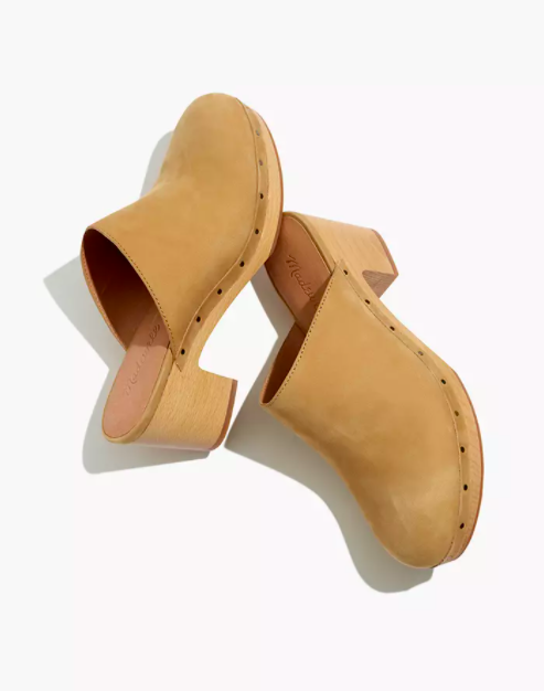 "<h2>Madewell Ayanna Clog</h2><br>Madewell's best-selling take on this traditional footwear might be back-ordered at the moment, but after reading the reviews, we're happy to wait. ""The perfect clog!"" wrote customer Joy on Madewell.com. Melcotwo said ""These seriously look good with every outfit, giving me a lift in height without a heel, per se."" Danikay27 summed it up: ""These clogs are everything you're hoping for a pair of clogs to be—comfortable and fashionable—enough said.""<br><br><strong>Madewell</strong> The Ayanna Clog, $, available at <a href=""https://go.skimresources.com/?id=30283X879131&url=https%3A%2F%2Fwww.madewell.com%2Fthe-ayanna-clog-99105399551.html"" rel=""nofollow noopener"" target=""_blank"" data-ylk=""slk:Madewell"" class=""link rapid-noclick-resp"">Madewell</a>"