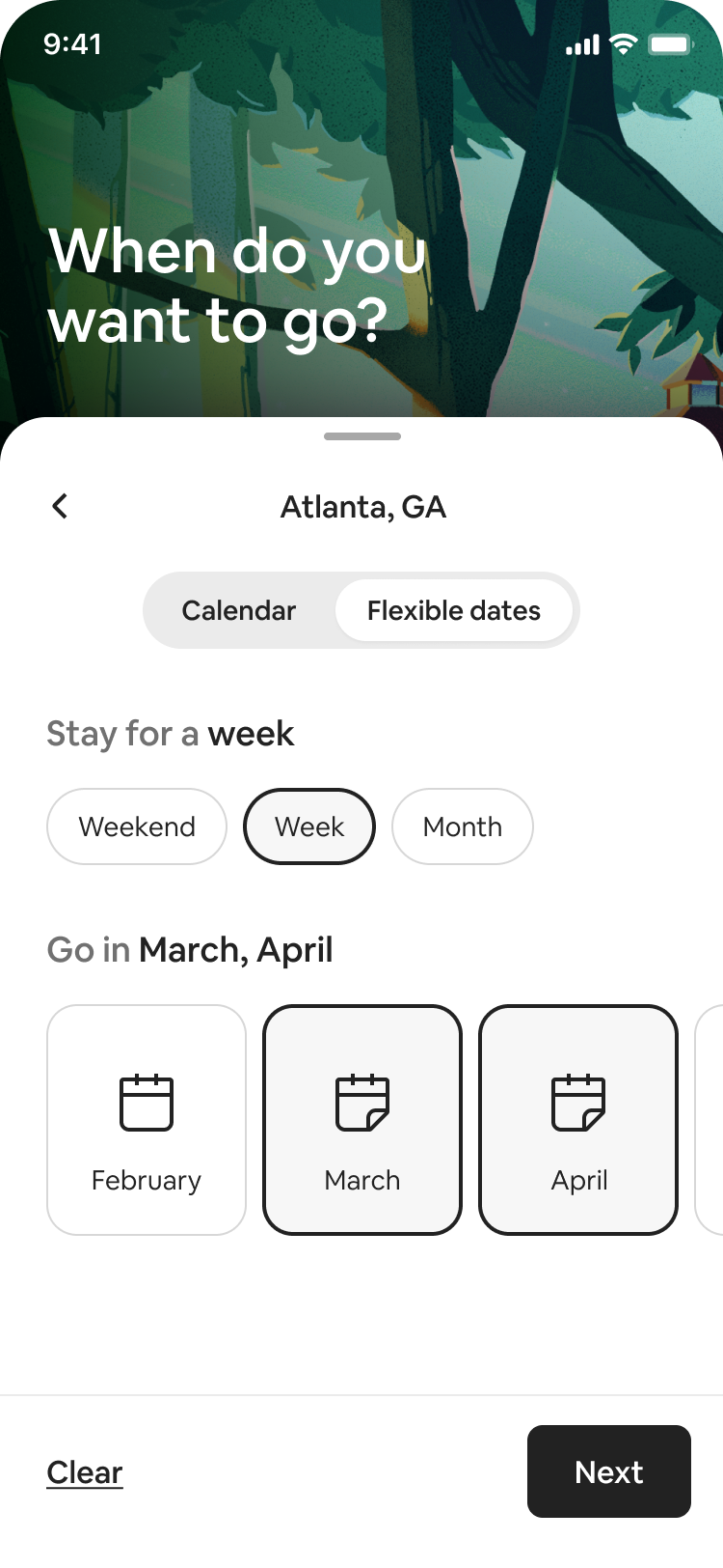 Airbnb launched flexible option offering on February 23, 2021 as more users requested open-ended stays.