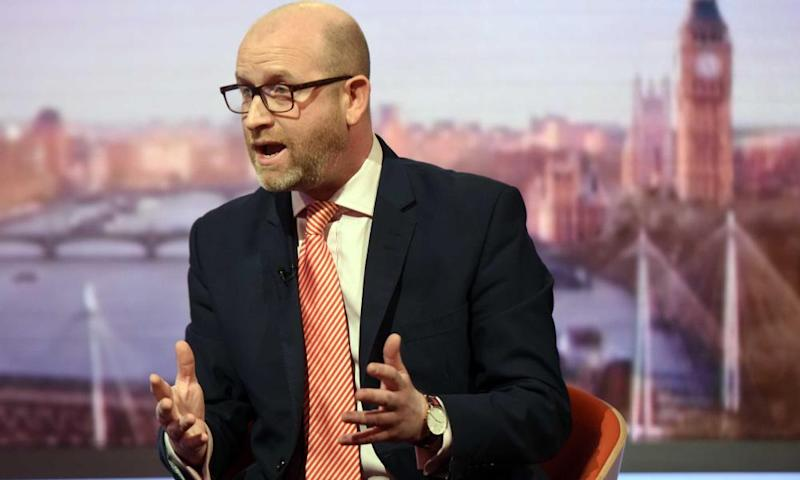 Ukip leader Paul Nuttall on the Andrew Marr Show.