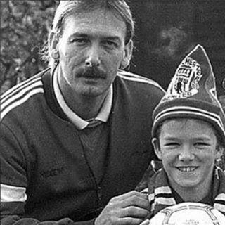 """<p>Beckham celebrated his dad, Ted, whom he said gave him """"the drive and work ethic to succeed ♥️.""""</p><p><a href=""""https://www.instagram.com/p/CBsS880B2MM/"""" rel=""""nofollow noopener"""" target=""""_blank"""" data-ylk=""""slk:See the original post on Instagram"""" class=""""link rapid-noclick-resp"""">See the original post on Instagram</a></p>"""