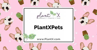 PlantX adds plant-based pet food (CNW Group/PlantX Life Inc.)