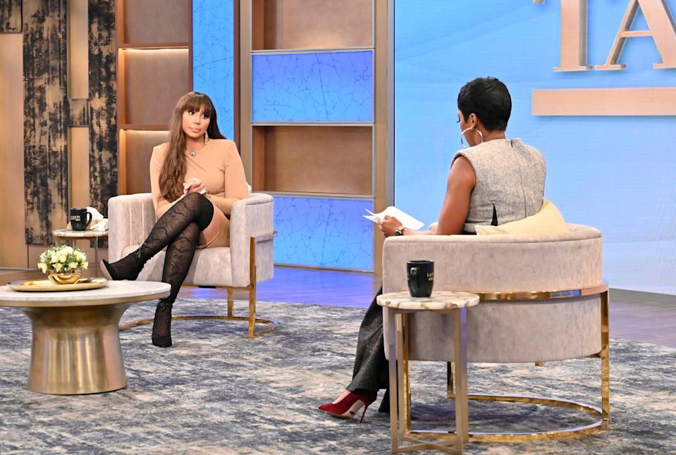Tamar Braxton joined Tamron Hall for an exclusive interview following her reported suicide attempt and allegations of domestic violence.