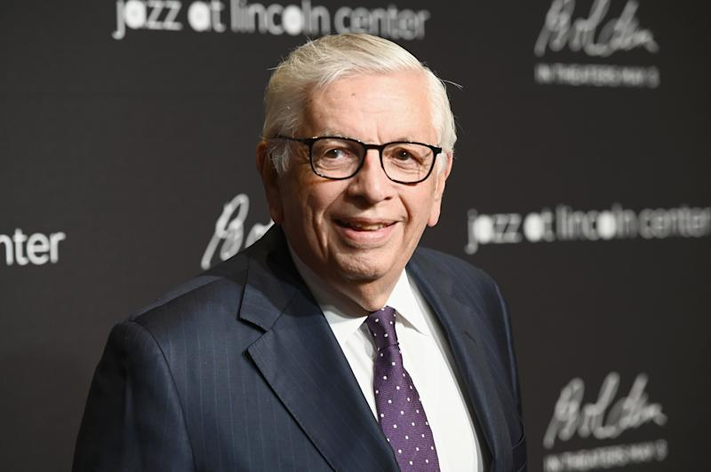 Former NBA commissioner David Stern was memorialized at Manhattan's Radio City Music Hall on Tuesday. (Noam Galai/Getty Images for Jazz At Lincoln Center)