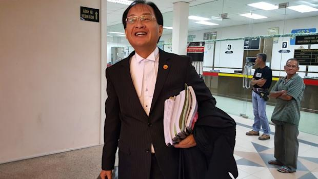 Sarawak PKR chief Baru Bian (pic) says Ahmad Fairuz's statement was not supported by any compelling legal argument. ― Picture by Sulok Tawie