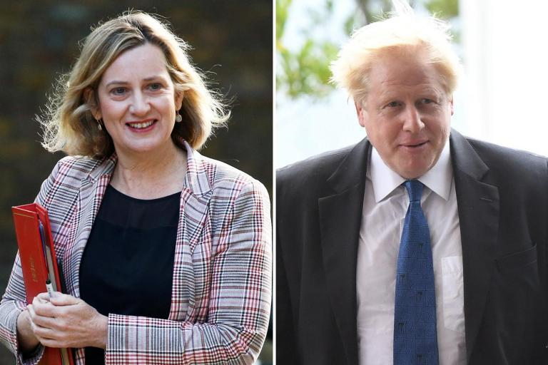 Amber Rudd rules herself out of Tory leadership race as she calls for a Brexiteer to become PM