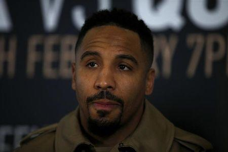 Britain Boxing - Renold Quinlan & Chris Eubank Jr Head-to-Head Press Conference - London Olympia - 2/2/17 Andre Ward during the press conference Action Images via Reuters / Andrew Couldridge Livepic