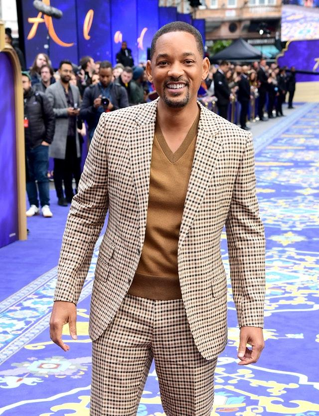 Will Smith arrives at the London premiere (Ian West/PA)