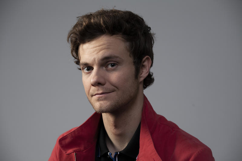 This Dec. 3, 2019 photo shows actor Jack Quaid posing for a portrait in Los Angeles. Quaid was named one of the breakthrough artists of the year by the Associated Press. (Photo by Rebecca Cabage/Invision/AP)