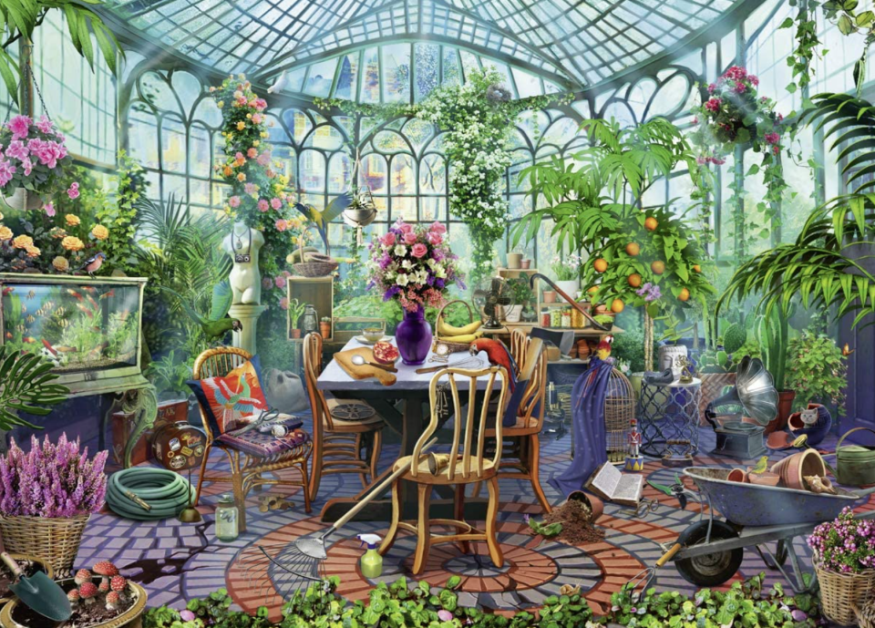 Ravensburger Greenhouse Morning 500-Piece Puzzle