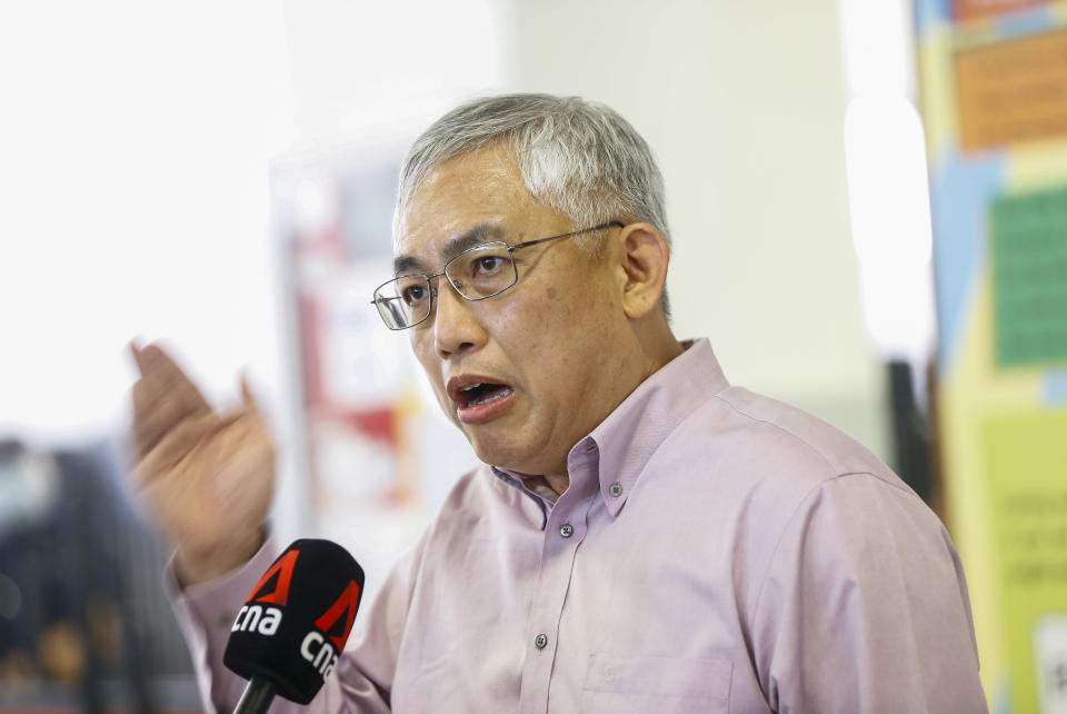 Pofma correction directions were issued on Facebook posts published on the Facebook pages of Goh Meng Seng (Satu Singapura) and Goh Meng Seng People's Power Party on 2 April 2021 and 7 April 2021. (FILE PHOTO: Yahoo News Singapore)