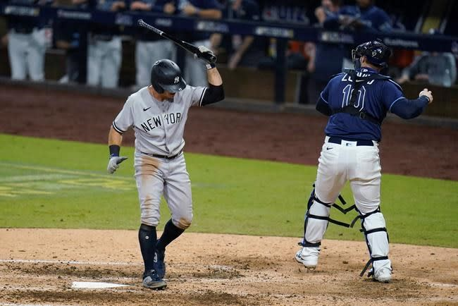Yankees come up short again in Game 5 loss to Rays