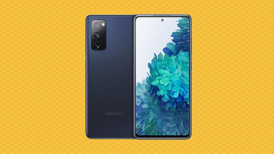 Smartphone, meet art form: Save over 50 percent on the Samsung Galaxy S20 FE 5G. (Photo: Samsung)
