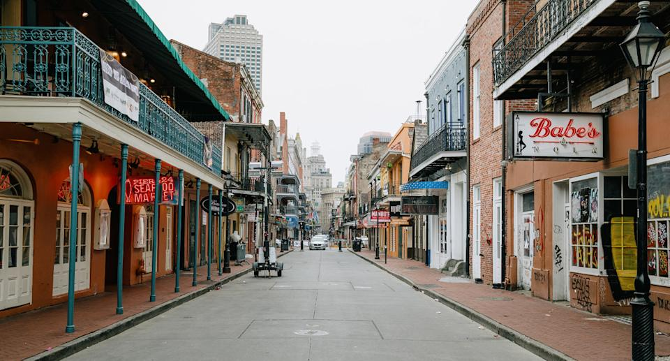 New Orleans French Quarter pictured.