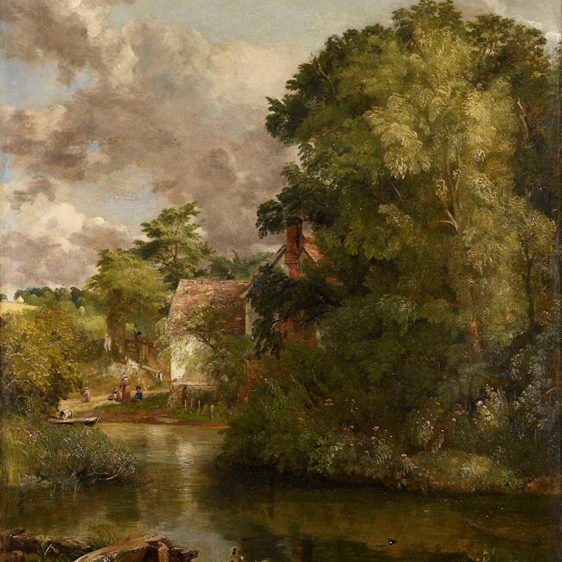 Willy Lott's Cottage Constable painting - Credit: Ashmolean Museum
