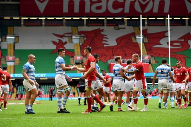 Wales and Argentina meet again after a 20-20 draw last weekend