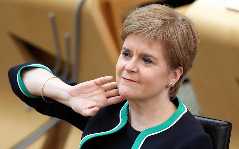"Ms Sturgeon said ""ideally"" measures would be taken on a four-nation basis - AFP"