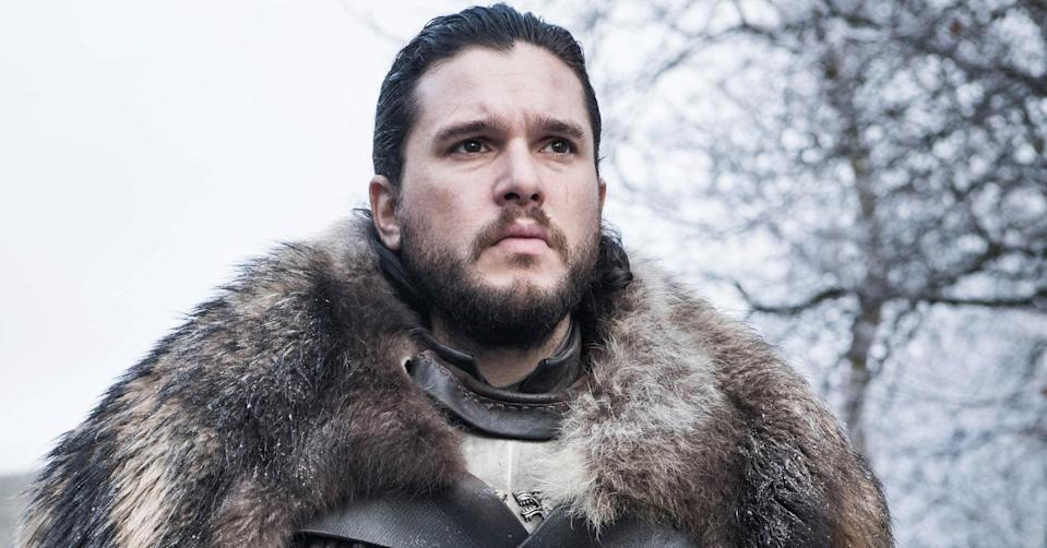 Kit Harrington as Jon Snow (Helen Sloan/HBO)Yaho