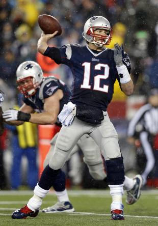 Tom Brady went 23-of-35 for 226 yards and three touchdowns on Sunday. (USA TODAY Sports)