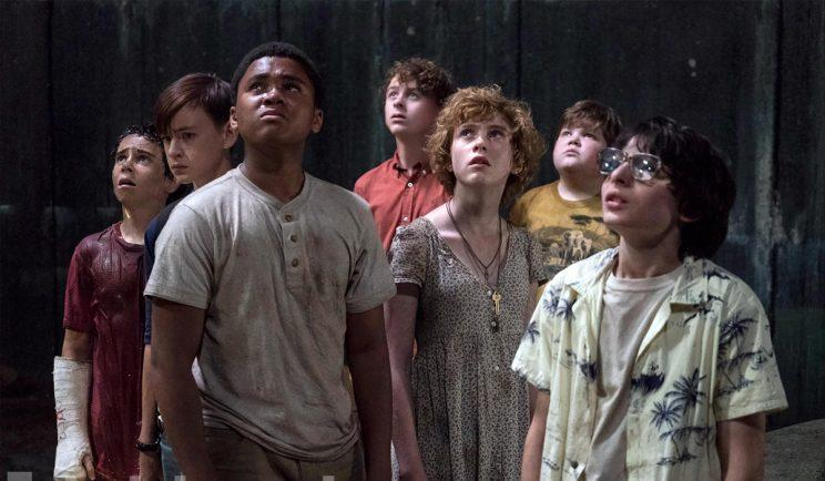 The Losers Club rally together to take on It - Credit: Warner Bros.