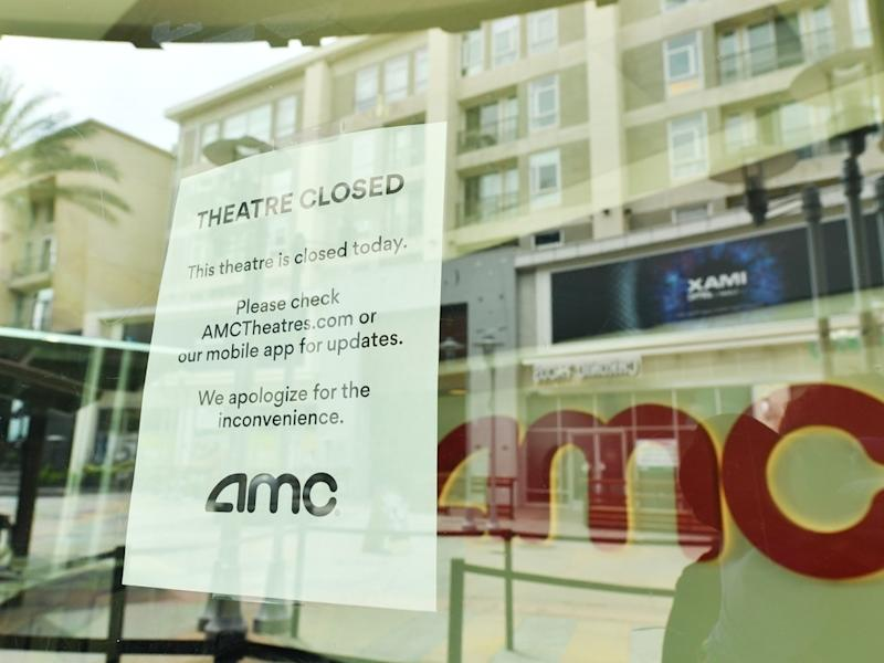 AMC officials expressed concerns over the ability to remain in business due to coronavirus-related losses.