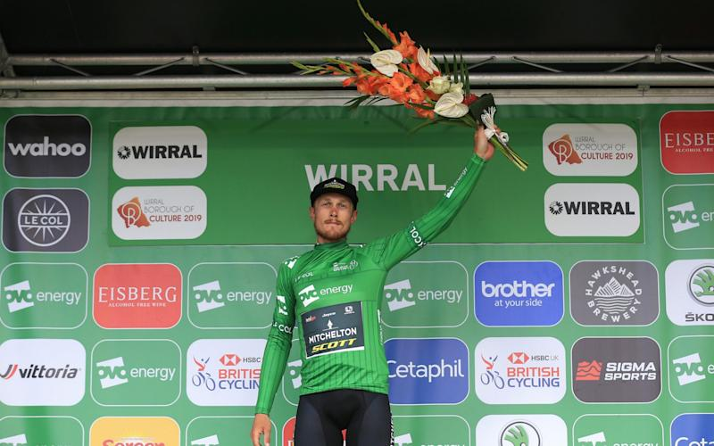 Matteo Trentin reclaimed the overall lead of the Tour of Britain on stage five - Velo