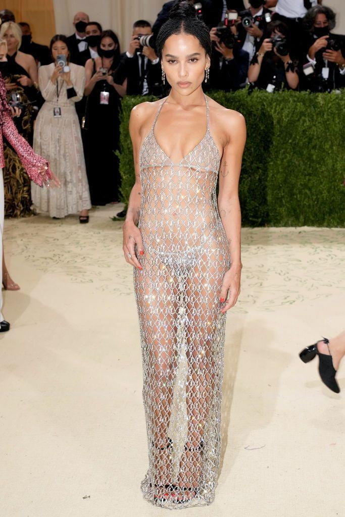 <p>The star of the upcoming <em>The Batman</em> (as Catwoman, no less) made wearing a bikini on the red carpet look like the chicest thing anyone could do. </p>