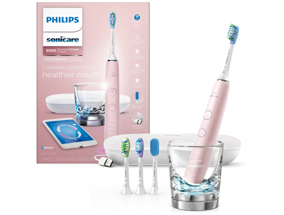 The Sonicare DiamondClean will have your gums, and your entire dental-health game, in the pink. (Photo: Amazon)