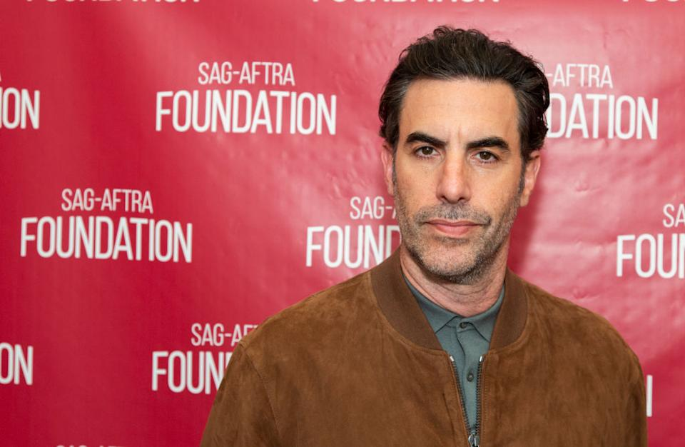 Sacha Baron Cohen was nominated for three 2021 Golden Globes. (Photo: Vincent Sandoval/Getty Images)