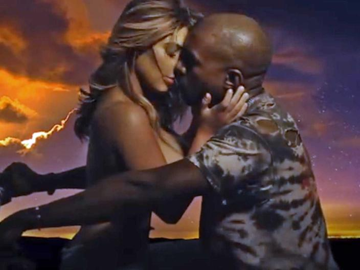"""Kim Kardashian West gained attention for her cameo in the """"Bound 2"""" music video."""