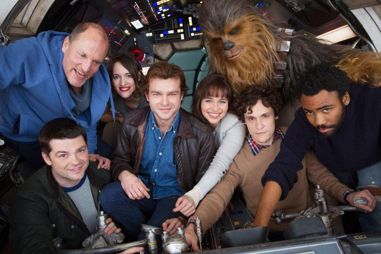 Han Solo Star Wars movie cast
