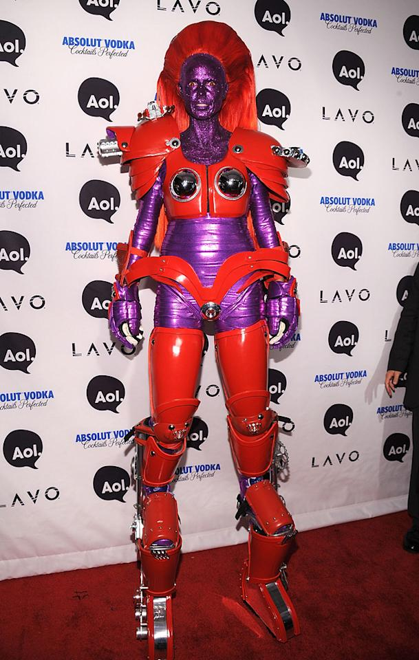 NEW YORK - OCTOBER 31:  Heidi Klum attends Heidi Klum's 2010 Halloween Party at Lavo on October 31, 2010 in New York City.  (Photo by Bryan Bedder/Getty Images) *** Local Caption *** Heidi Klum