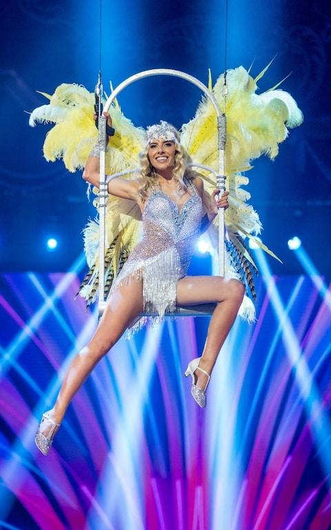 Mollie flies up for her charleston finale