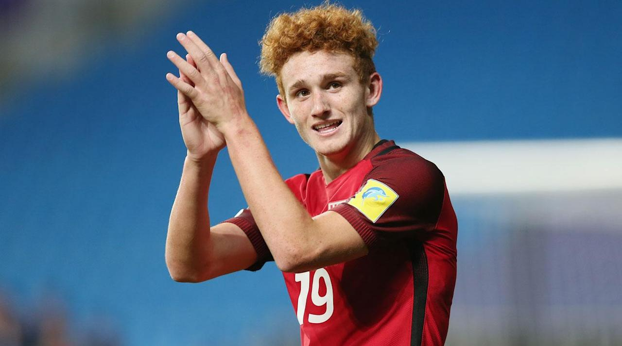 """<p>Another U.S. men's national team prospect is headed to Germany.</p><p>U.S. youth national team forward <a rel=""""nofollow"""" href=""""https://www.si.com/planet-futbol/2017/05/25/josh-sargent-usa-soccer-forward-under-20"""">Josh Sargent</a> will sign with Werder Bremen, the Bundesliga club announced on Wednesday. The 17-year-old Sargent opened eyes at the U-20 World Cup this year with four goals and an assist, and he will lead the USA U-17s at the U-17 World Cup next month. The Missouri native can officially sign with Werder Bremen once he turns 18 in February.</p><p>""""We have been keeping tabs on Joshua for a long time and so it isn't a great surprise to us that his brilliant performances have attracted attention on an international scale. Therefore we are extremely happy that despite the numerous offers from other top clubs in Europe, he was convinced by our philosophy at SV Werder and that we can now oversee his development as a player and support him along the way. He has a great understanding of the game and he is one of the most promising talents of his age in the world,"""" Tim Steidten, Werder Bremen's head of scouting, said in a club statement.</p><p>Sargent's path to the first team appears to be set, with Steidten saying that he'll join the first team next summer.</p><p>""""Josh will have time to adapt to the club and the city and at the start, he will train with the U-23s. Then from next summer, he will become a proper part of the squad,"""" Steidten said.</p><p>Sargent, who previously trained with PSV Eindhoven and Schalke, reportedly chose Werder Bremen over the likes of Bayern Munich and Borussia Dortmund, <a rel=""""nofollow"""" href=""""https://twitter.com/TaylorTwellman/status/910473643485835264"""">according to ESPN's Taylor Twellman</a>, who came through the same St. Louis Scott Gallagher Development Academy club program as Sargent.</p><p>In Germany, Sargent will join the likes of <a rel=""""nofollow"""" href=""""https://www.si.com/soccer/2017/09/18/christian-pulisic-birthday-19-top-mo"""