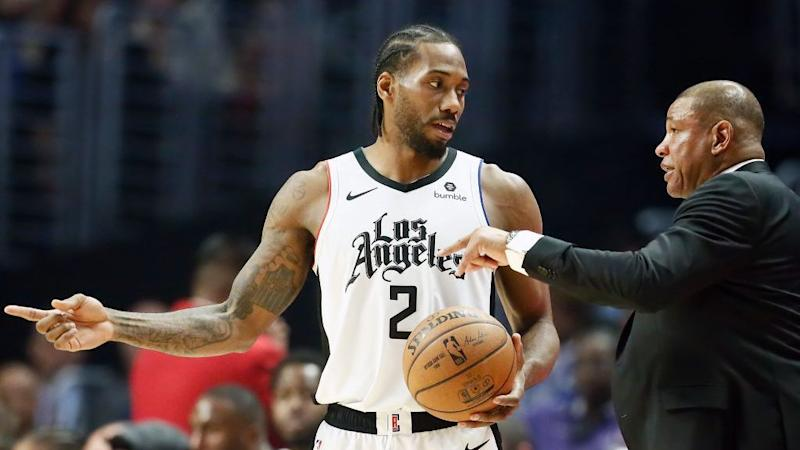 Doc Rivers: 'I know Kawhi's overworking. I can guarantee you that.'