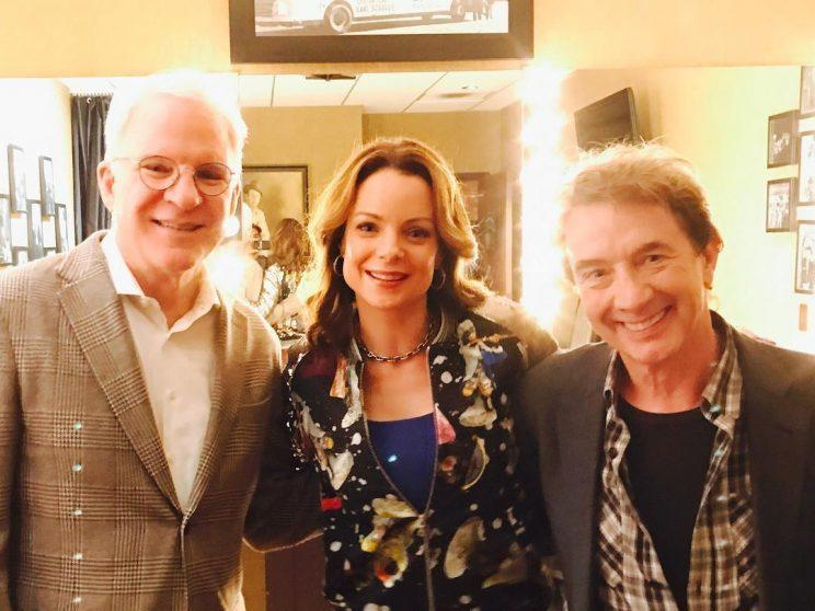 Reunion… Father of the Bride stars get together in Nashville – Credit: Instagram