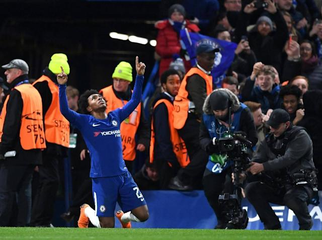 Willian: Chelsea can beat Barcelona, and Man City are the perfect preparation for Champions League second leg