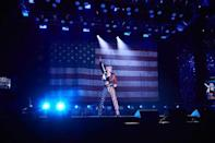 """<p>Was my honor to perform PARTY IN THE USA opening tonight's <a href=""""https://www.instagram.com/rockineve/"""" rel=""""nofollow noopener"""" target=""""_blank"""" data-ylk=""""slk:@rockineve"""" class=""""link rapid-noclick-resp"""">@rockineve</a> after the year we've experienced. This song represents TRIUMPH (check the belt) 🇺🇸 🎉🎸looking forward to 2021 wishing everyone a happy and safe NY celebration! 2 more songs to come!</p><p><a href=""""https://www.instagram.com/p/CJe8o0LpwKk/"""" rel=""""nofollow noopener"""" target=""""_blank"""" data-ylk=""""slk:See the original post on Instagram"""" class=""""link rapid-noclick-resp"""">See the original post on Instagram</a></p>"""