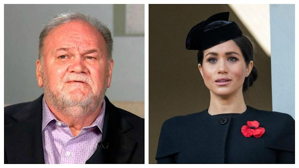 Thomas Markle has admitted that his daughter did try to contact him last August with a letter. [Photo: Getty Images/ITV]