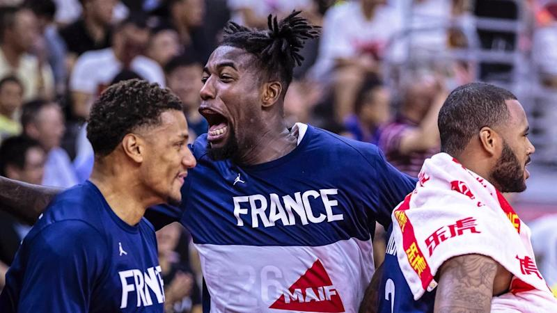 France have stunned the United States in the biggest upset of the basketball World Cup in China