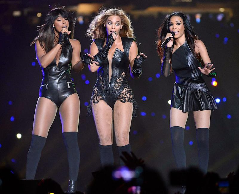 Kelly Rowland, Beyonce and Michelle Williams   Kevin Mazur/WireImage