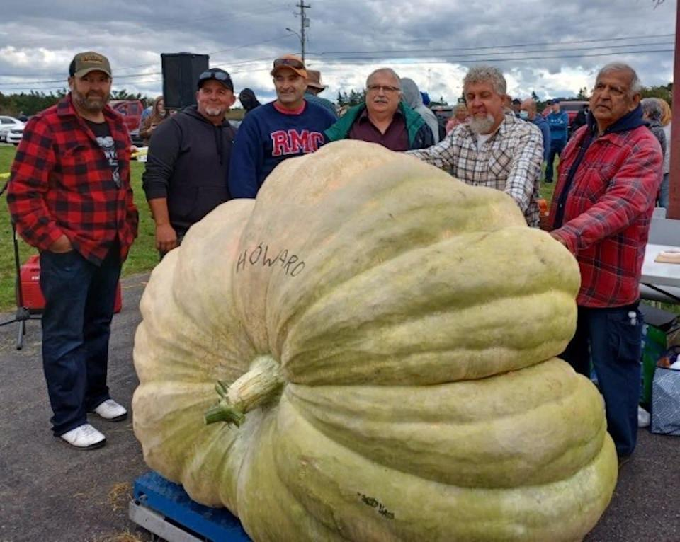 Atlantic Canada record set for largest pumpkin, just shy of national
