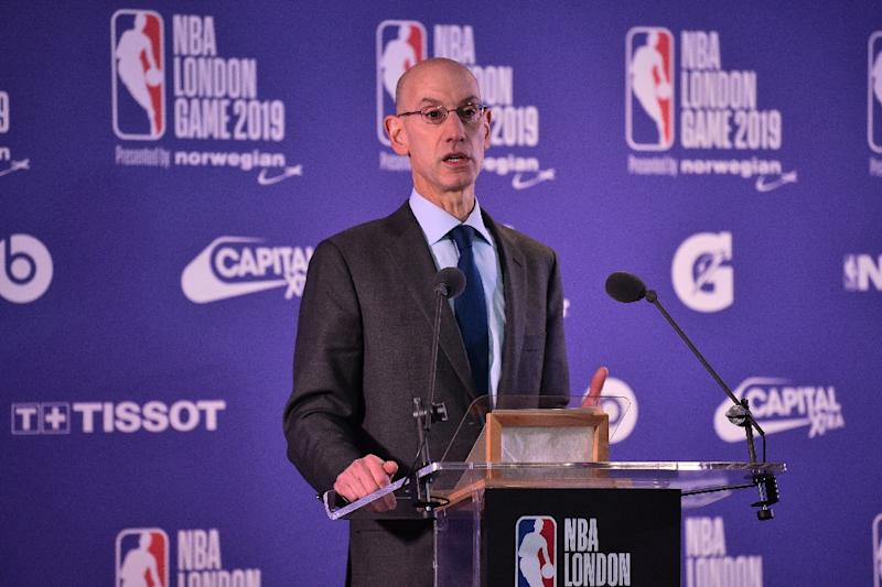 NBA commissioner Adam Silver and FIBA officials announced Saturday they will collaborate on a new 12-team African pro basketball league that begins in January 2020
