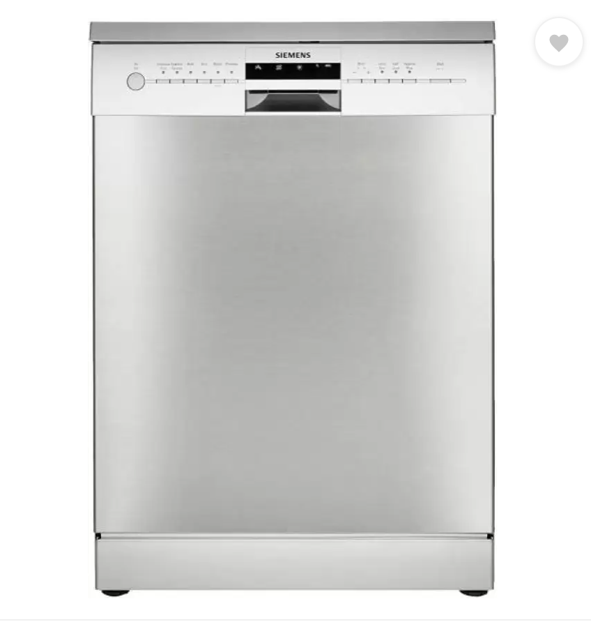 Siemens SN 256 101 GI Free Standing 14 Place Settings Dishwasher