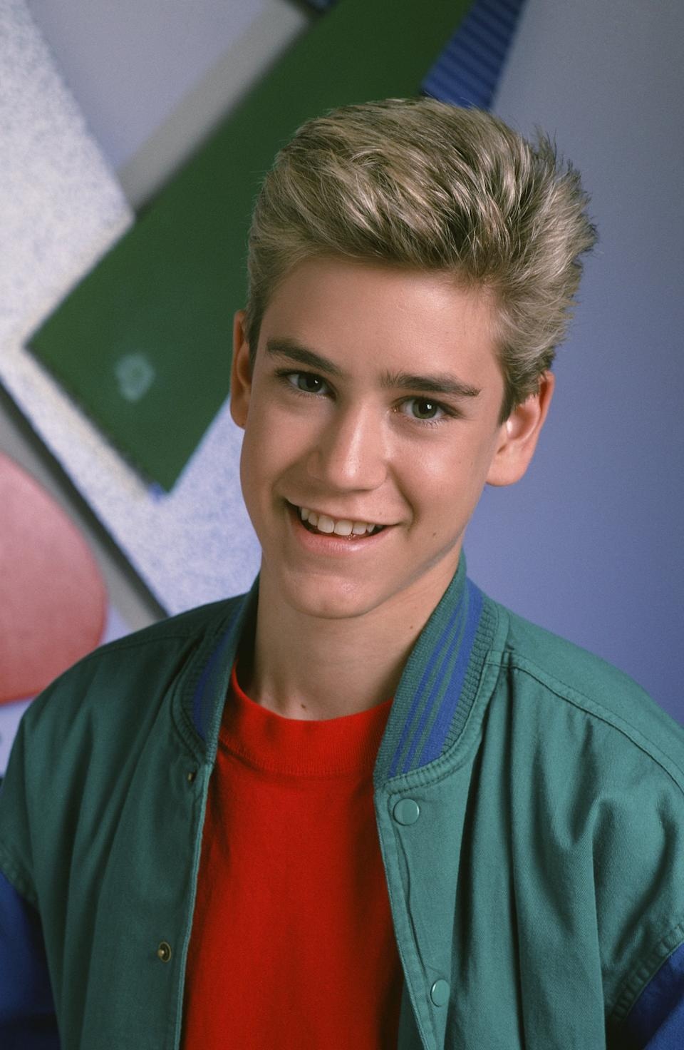 A teenage Gosselaar starred as Zack Morris in the original Saved by the Bell as well as Good Morning, Miss Bliss. (Photo: Alice S. Hall/NBCU Photo Bank