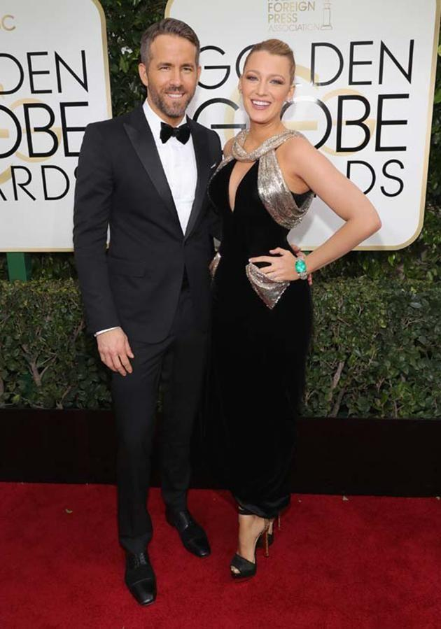 Blake Lively (pictured above with her husband Ryan Reynolds at the 2017 Golden Globes) was born in 1987 in California. Photo: Getty Images.